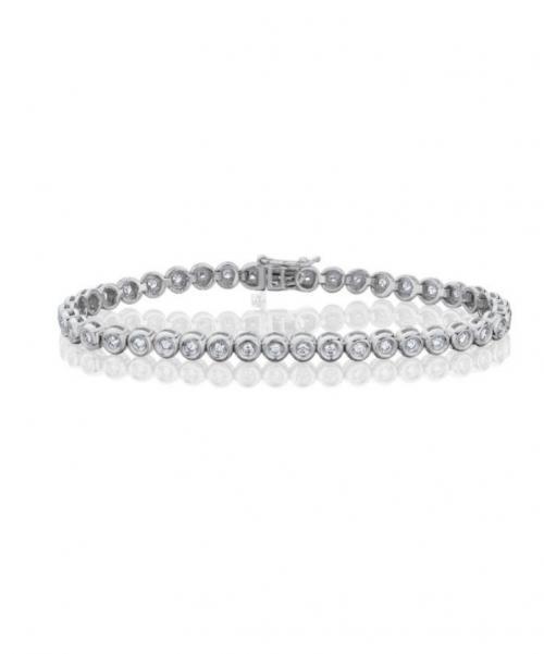צמיד טניס יהלומים bd009