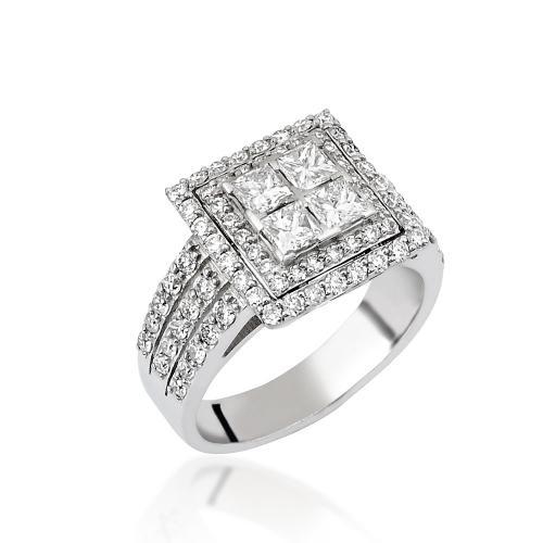 טבעת יהלומים מעוצבת RDR014