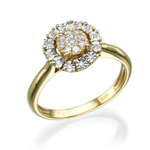 טבעת יהלום אירוסין - טנריף
