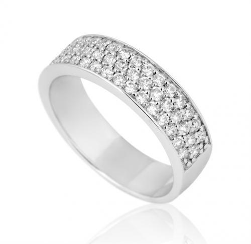 טבעת יהלומים מעוצבת RDR010