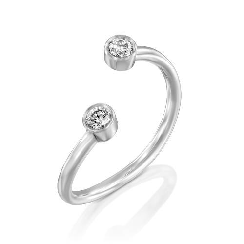 טבעת יהלומים מעוצבת RDR033