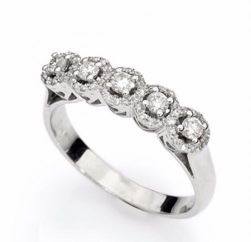 טבעת יהלומים מעוצבת RDR008
