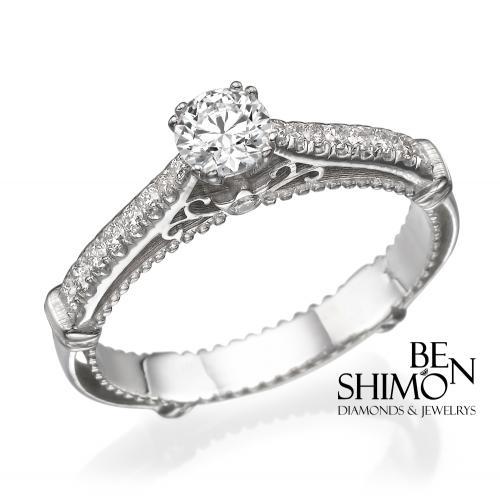 טבעת יהלום - תפארת מלכות