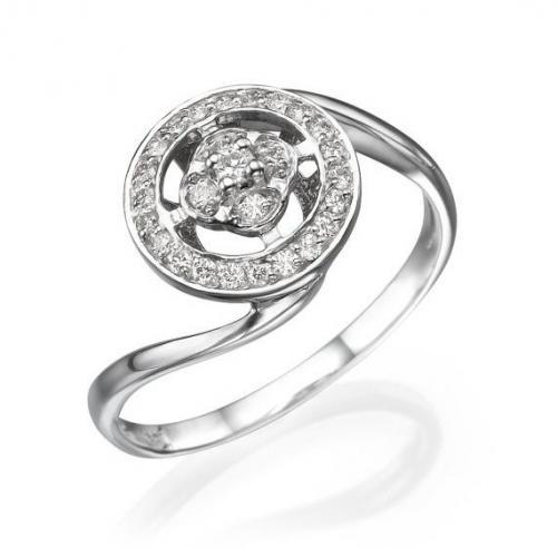טבעת יהלומים  - גליל