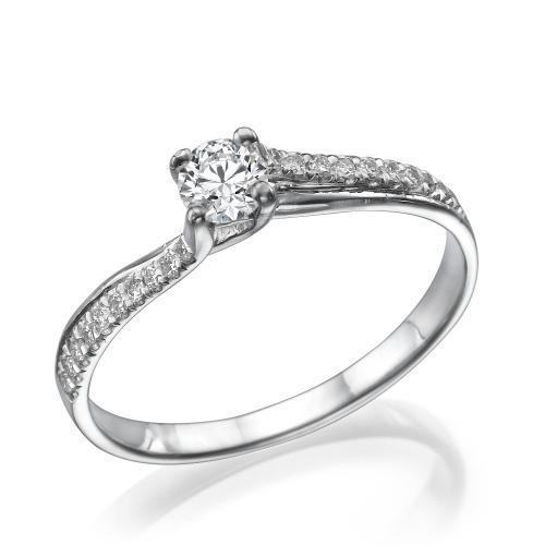טבעת יהלום אירוסין -תפארת