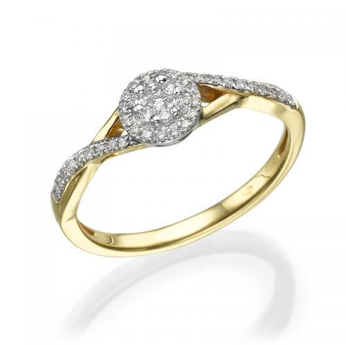 טבעת יהלום אירוסין - קורדובה