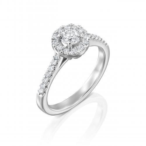 טבעת יהלום אירוסין A031