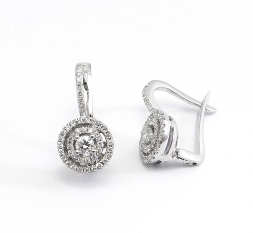עגילי יהלומים  ונציה