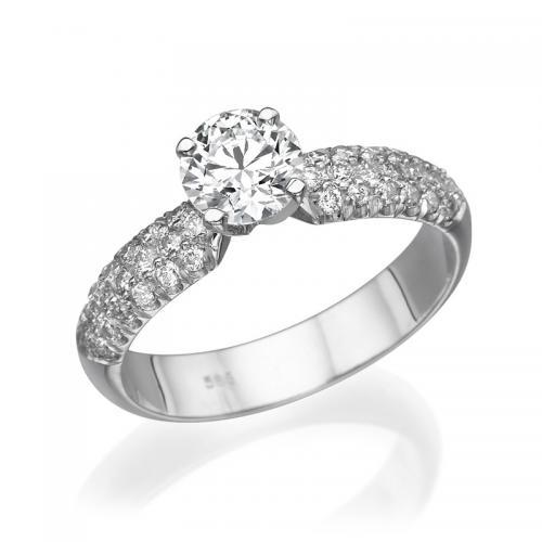 טבעת יהלום אירוסין -פלרמו