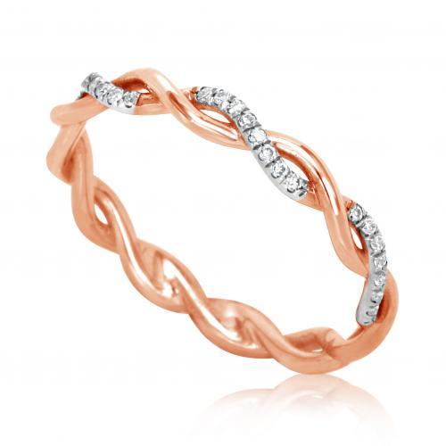 טבעת יהלומים מעוצבת RDR001