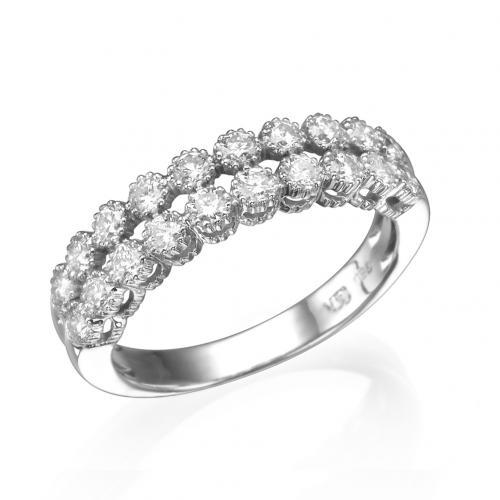 טבעת יהלומים פרו מילאנו