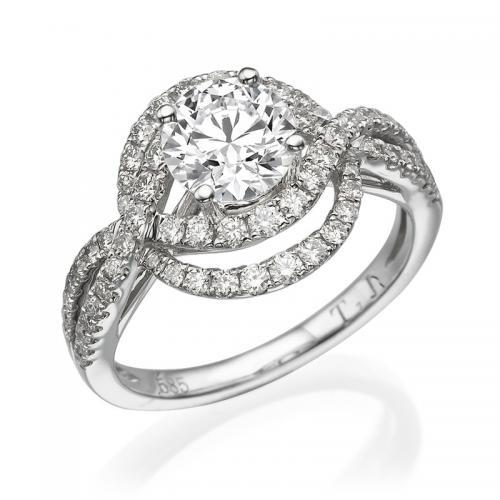 טבעת יהלום שטרסבורג- 1.01 קרט