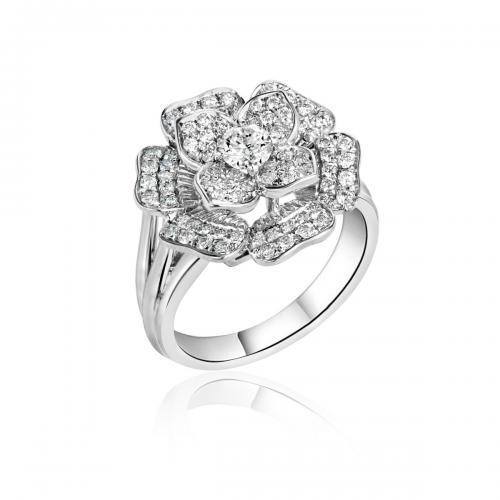 טבעת יהלומים מעוצבת RDR021
