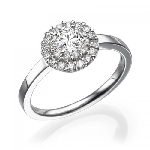 טבעת יהלום אירוסין -מילאנו