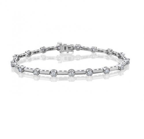 צמיד טניס יהלומים bd008