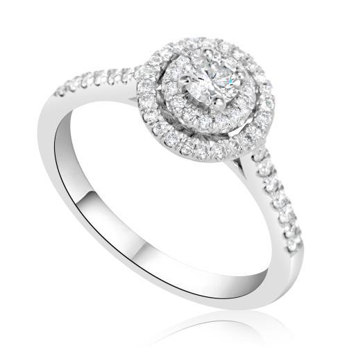טבעת יהלום אירוסין A010