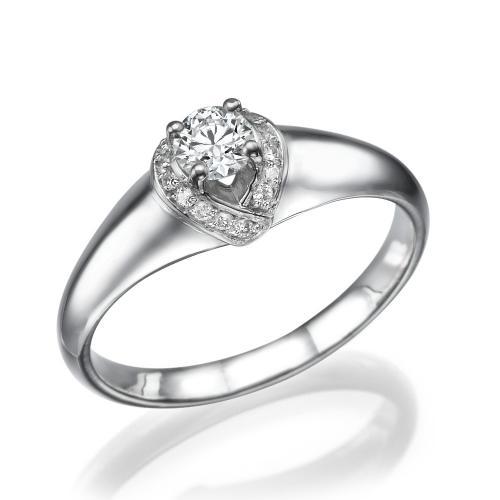 טבעת יהלום אירוסין -מלכות הכתר