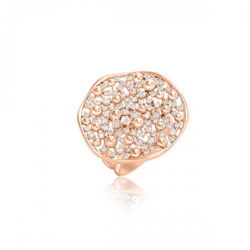 טבעת יהלומים מעוצבת RDR023