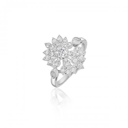טבעת יהלומים מעוצבת RDR028