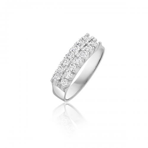 טבעת יהלומים מעוצבת RDR027