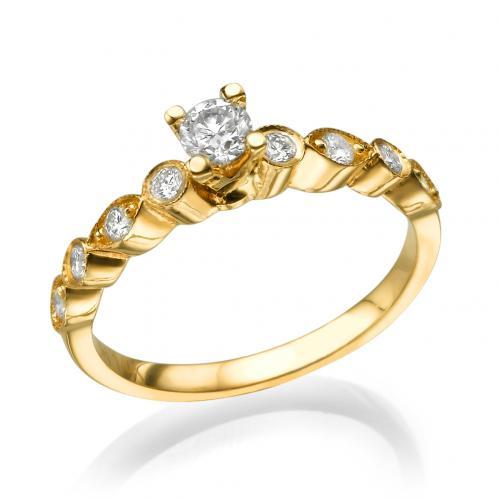 טבעת אירוסין - יהלום