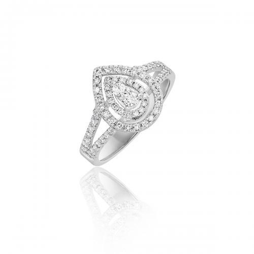 טבעת יהלומים מעוצבת RDR029