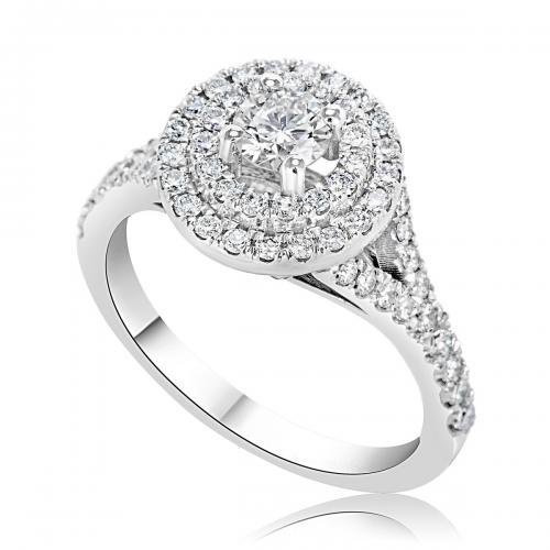 טבעת יהלום אירוסין A013