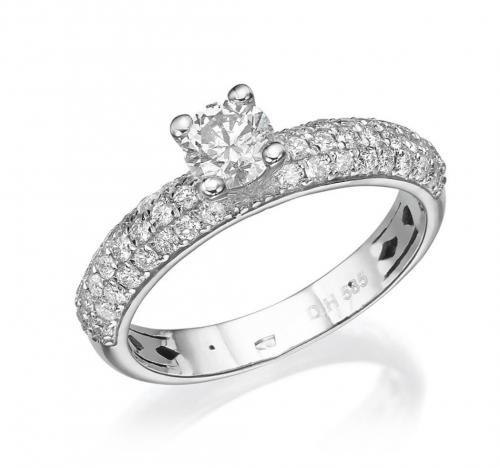 טבעת יהלום אירוסין A018