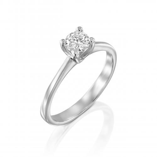 טבעת יהלום אירוסין A032