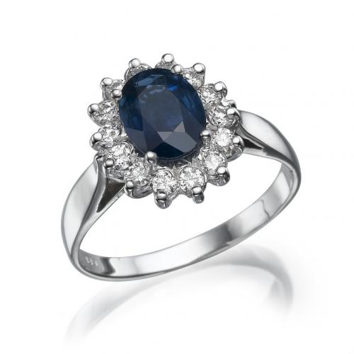 טבעת יהלום - דיינה ספיר