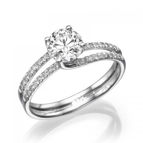 טבעת יהלום אירוסין - סוויט