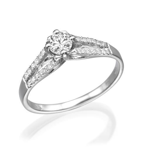 טבעת יהלום אירוסין - גיבלטר