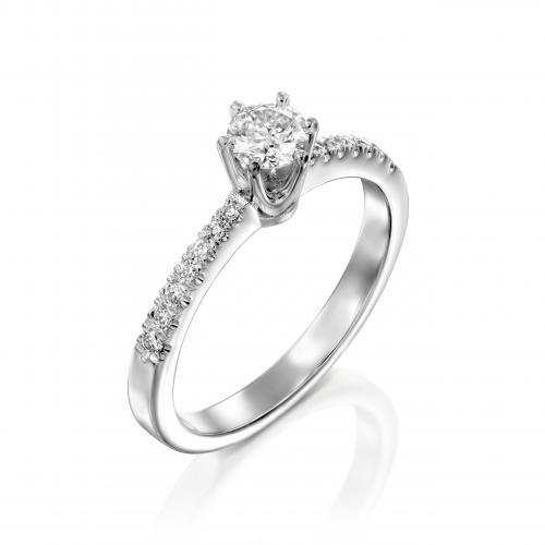 טבעת יהלום אירוסין A033