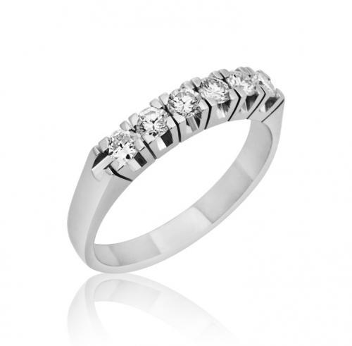 טבעת יהלומים מעוצבת RDR006