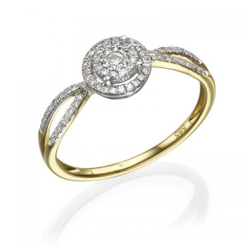 טבעת יהלום אירוסין- ויטוריה