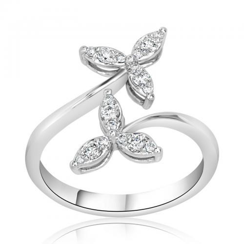 טבעת יהלומים מעוצבת RDR015