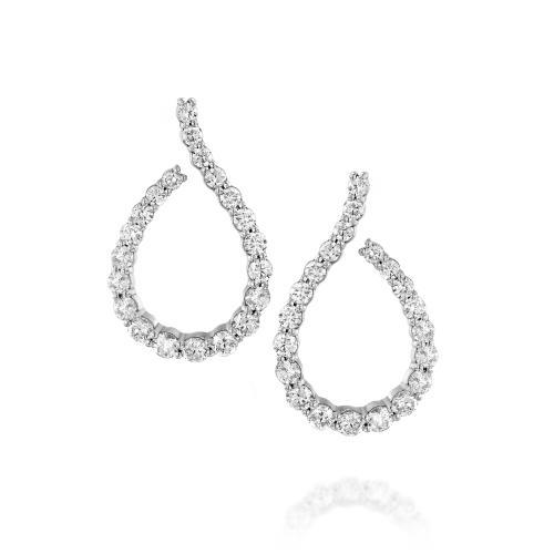 עגילי יהלומים ED029