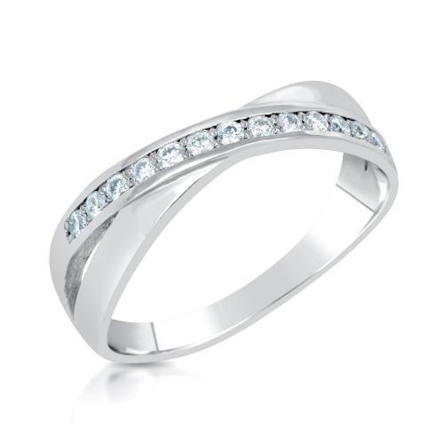 טבעת יהלום סוויט שורה