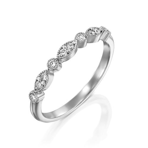טבעת יהלומים מעוצבת RDR032