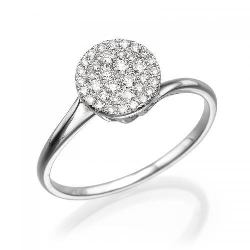 טבעת יהלום אירוסין -סיצילה