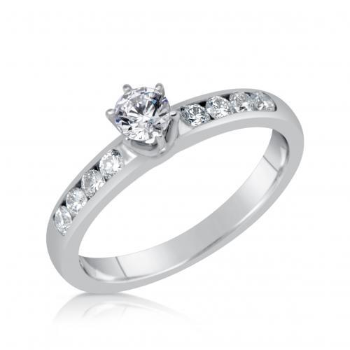 טבעת יהלום טיפני