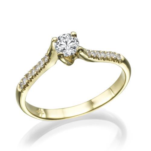 טבעת יהלום אירוסין -סוויט