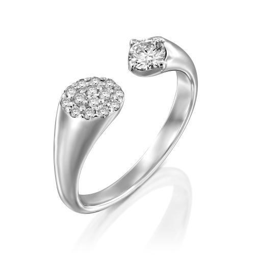 טבעת יהלומים מעוצבת RDR031