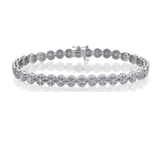 צמיד טניס יהלומים bd015