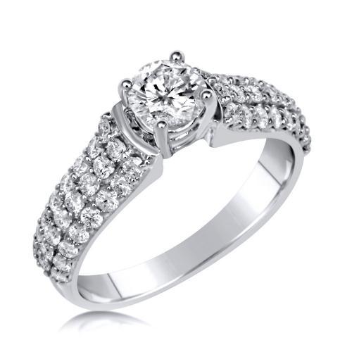 טבעת יהלום מלכות