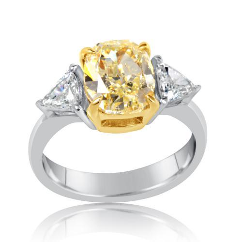 טבעת יהלום קושון פנסי