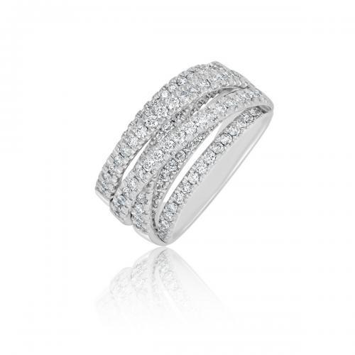 טבעת יהלומים מעוצבת RDR022