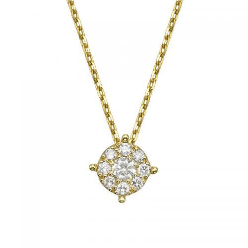 תליון יהלומים נסיכה
