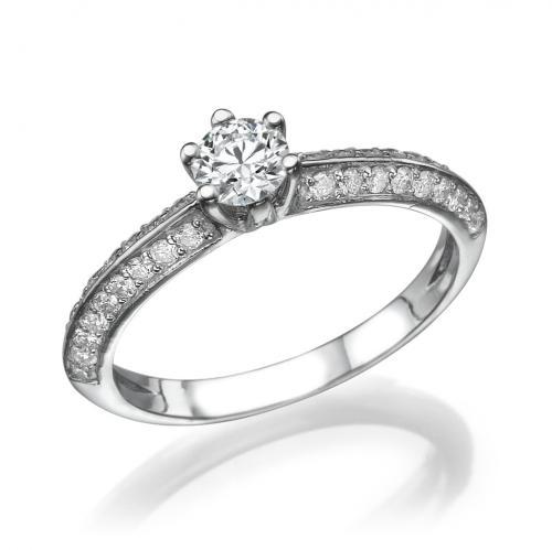 טבעת יהלום אירוסין - חושן