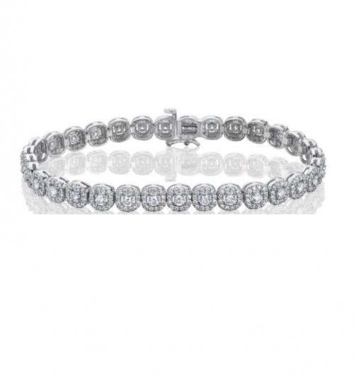 צמיד טניס יהלומים bd016